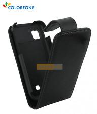 Etui Flip Rabattable CHIC CASE Noir pour SAMSUNG Wave 723 - S7230