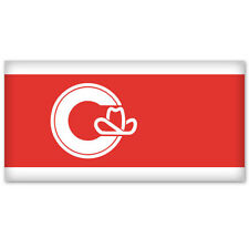 "Calgary Alberta Canada coat of arms sticker 4"" x 5"""