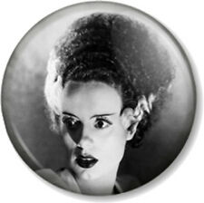 "Bride of Frankenstein 1"" 25mm Pin Button Badge Elsa Lanchester Halloween Horror"