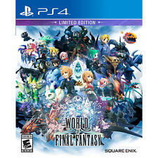 World of Final Fantasy Limited Edition for Sony PS4