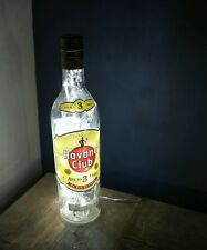 Upcycled Modern Cool Havana Club Rum Bottle Lamp Light - by iluvlamp