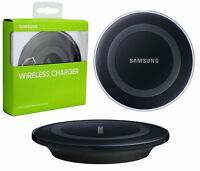 ☆☆ SAMSUNG WIRELESS Qi CHARGER /INDUKTIVE LADESTATION GALAXY S6/S7 Schwarz   ☆