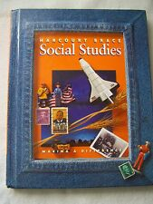 Harcourt Brace Social Studies Grade 2 Making a Difference Text ISBN# 0153097841