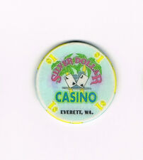 Everett, WA Washington Silver Dollar Casino  $1 Casino Chip - One Dollar