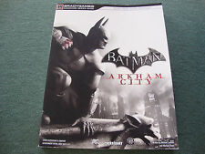 BATMAN ARKHAM CITY STRATEGY GUIDE XBOX 360 PLAYSTATION 3 PC