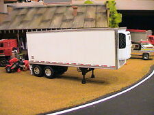 DCP 28' CUSTOM TANDEM AXLE WABASH REEFER  PUP VAN TRAILER 1:64 DOUBLE / TRIPLE