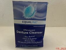 Qty=12, Equaline Effervescent Denture Cleanser Tablets 90 ct per box