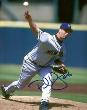 Brewers PAUL WAGNER Signed 8x10 Photo #2 AUTO - 1997-1998