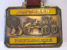 Hough Payloader Paydozer Watch Fob Frank G Hough Co Libertyville IL Green Duck