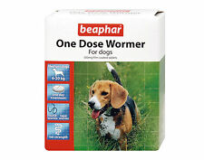 Beaphar One Dose Wormer Medication Tablets For Medium Dogs 6-20kg