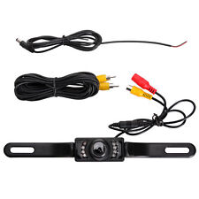 New car rearview back up reverse camera IR night vision rear view License Plate