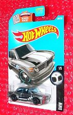 2016 Hot Wheels BMW 2002 #186  DHX90-D9B0L  ZAMAC