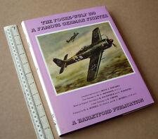 Le focke-wulf 190 une célèbre german fighter. Harleyford pubs 1973 par h. nowarra