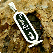 Egyptian Silver Jewelry Name Cartouche of God Seth (Set)