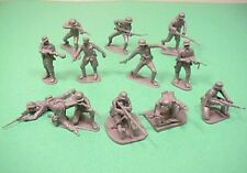 CTS Classic Toy Soldiers 1/32nd Scale World War II German Plastic Soldiers Set