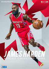 "NBA COLLECTION: JAMES HARDEN MOTION MASTERPIECE 1/9 Action Figure 8"" ENTERBAY"