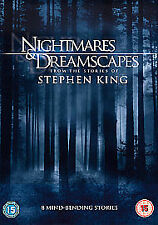 NIGHTMARES AND DREAMSCAPES DVD Stephen King New Sealed UK Release Movie Film