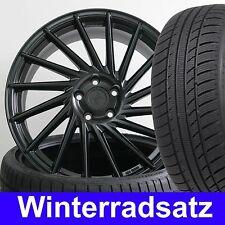 """18"""" KT17 Black E3 Alufelgen 225/40 Winterreifen für VW Scirocco Typ 13"""