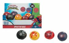 SPIDERMAN SPLAT BALL ( ASORTED COLOURS ) X 1 SINGLE SUPPLIED