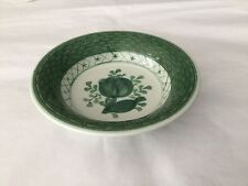 Vintage Royal Copenhagen Fajance Green Tranquebar small bowl