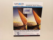 MINOLTA DIMAGE SCAN ELITE II SALES BROCHURE