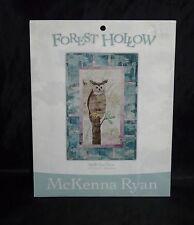 Forest Hollow McKenna Ryan Bird's Eye View Owl Quilt Block 3 Pattern Quilting