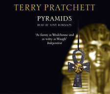 TERRY PRATCHETT - PYRAMIDS CD. Read By Tony Robinson