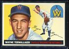 1955   Topps   Baseball   # 34   Terwilliger   EX-MT   Excellent to Mint