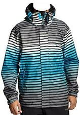 QUIKSILVER Men's LAST MISSION Shell Snow Jacket - BLU - XL - NWT