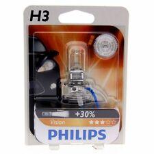 2x H3 Philips Vision Halogenlampe bis zu 30% mehr Licht 12336PR Blister Set