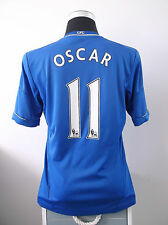 OSCAR #11 Chelsea Home Football Shirt Jersey 2012/13 (M)