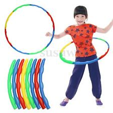Portable Slot Together Adjustable Hoola Hoop Adult Child Sports Aerobics Tool UK