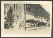 Cabinet Photo Storefront of Chas J Koch 2nd Hand Furnishings Store Pendleton OR