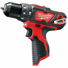 Milwaukee 2408-20 M12 12V Lithium-Ion Cordless 3/8 in. Hammer Drill/Driver