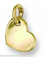 9ct Yellow Gold Small Heart Pendant