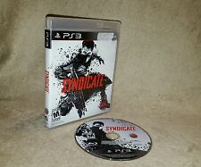 Syndicate (Sony PlayStation 3 PS3, 2012)
