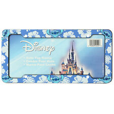License Plate Frame - Car - Plastic - Disney - Stitch - Hawaiian Hibiscus