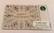 Starbucks 2014 Happy Holidays Card Brand New