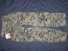 WOODLAND MARPAT TROUSERS USMC SMALL-LONG nwt FROG USA MILITARY MCU CAMO PANTS a