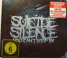 """CD+DVD-Box - """"YOU CAN´T STOP ME"""" - SUICIDE SILENCE+neu+ovp++"""