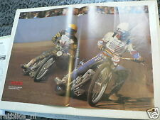 A095-POSTER BRUCE PENHALL AND MIKE LEE SPEEDWAY DIRTTRACK POSTER 1980/81
