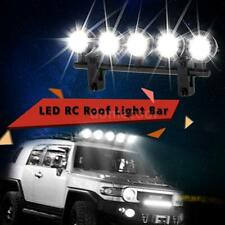 G.T.POWER LED Roof Light Bar Set 5 Spotlight for RC Crawlers Black N8M7