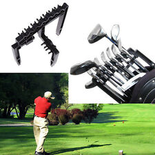 Golf 9 Iron Club ABS Shafts Holder Stacker Holder Stacker Rack Organizer Black