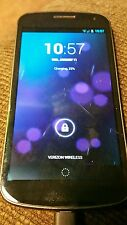 Galaxy Nexus 32 gb smartphone verizon 4G LTE powered by Google Android 4.2.2