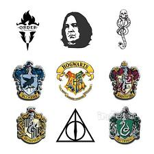 Harry Potter Movie Hogwarts Insignia Snape Death Eater Tattoos 9 pieces/set
