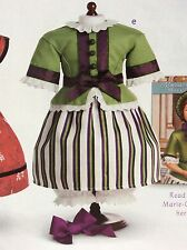 American Girl Marie Grace PARTY OUTFIT Cecile NIB Retired Green Striped