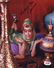 "(SSG) BARBARA EDEN Signed 8X10 ""I Dream of Jeannie"" Photo with a PSA/DNA COA"