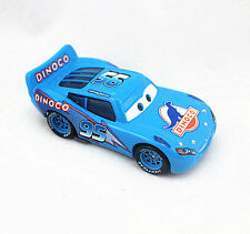 Disney Pixar Cars Diecast Metal Blue Dinoco Lighting Mcqueen 1:55 NO.95Car Toy