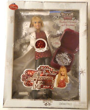 NEW NIB Hannah Montana 2008 Christmas Holiday Pop Star Singing Figure Doll