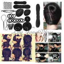 Magic Bun Hair Styling Accessory Maker Insert Distribute Hairpins Clip Tool Kit